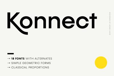 Konnect Font Family