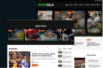 Sportszilla - News & Magazine WordPress Theme