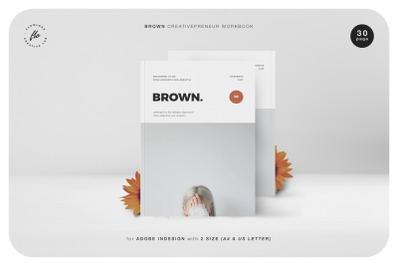 BROWN Creativepreneur Workbook