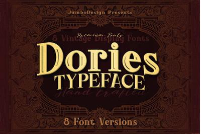 Dories - Display Font