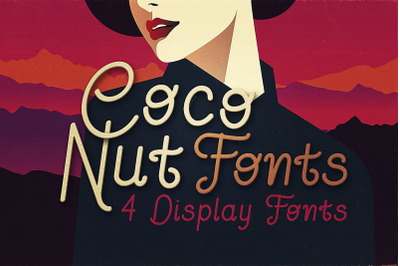 Coconut - Display Font