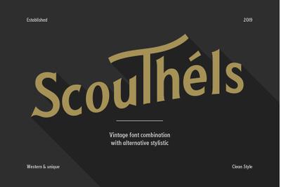 Scouthels Typeface - Clean Sans Font