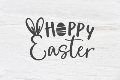 Hoppy Easter SVG, EPS, PNG, DXF