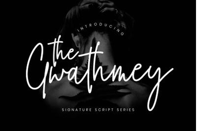 The Gwathmey Signature Script