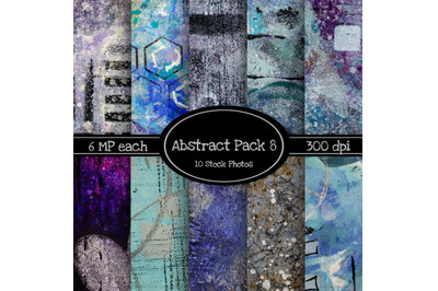 10 Pack of Abstract Texture Backgrounds Pack 8