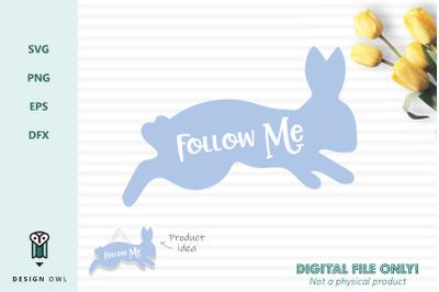 Follow me - SVG file