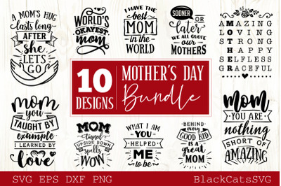 Mother's Day SVG bundle 10 designs Mother's Day SVG