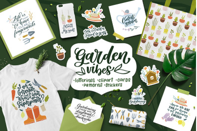 Garden Vibes Graphics Set