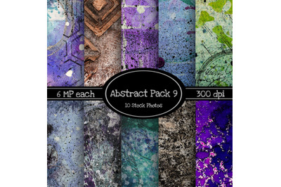 10 Pack of Abstract Texture Backgrounds Pack 9