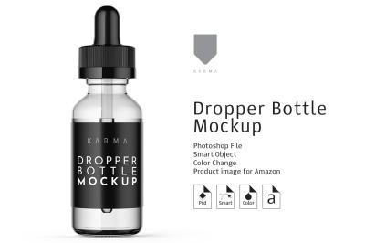 Dropper Bottle Mockup 7