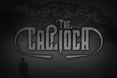 Callioca Decorative Serif Typeface