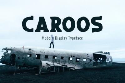 Caroos Typeface