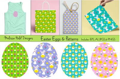 Easter Eggs & Patterns