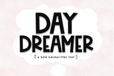 Day Dreamer - A Cute & Quirky Handwritten Font