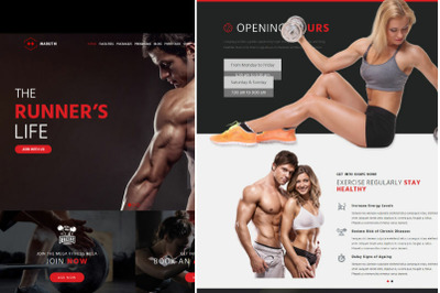 Maruti - Fitness Center WordPress Theme