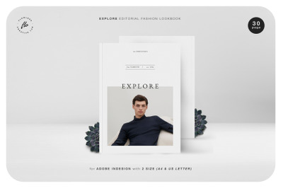 EXPLORE Editorial Fashion Lookbook