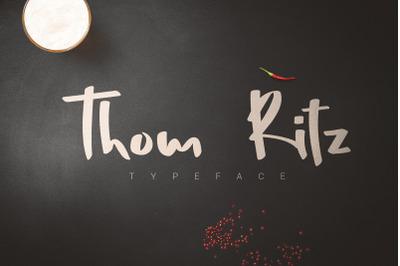 Thom Ritz Typeface
