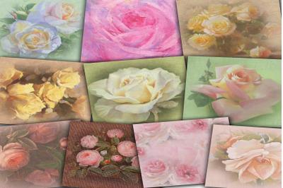 Victorian Rose Digital Paper