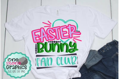Easter bunny fan club svg,easter svg,easter bunny svg