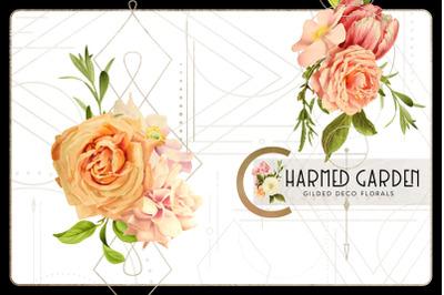 Charmed Garden Deco Florals