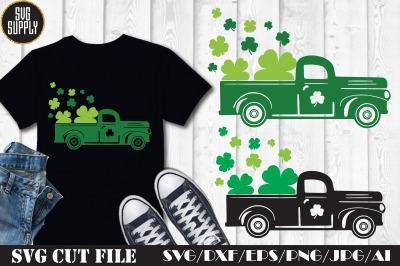 St. Patrick's Truck SVG Cut File