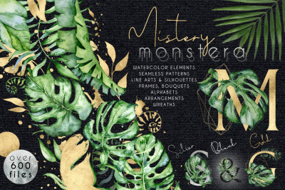 Mistery Monstera Huge set Over 600 files!