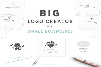 Big Logo Creator for Small Businesses