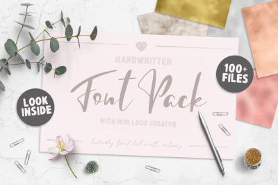 Font Pack & Mini Logo Creator
