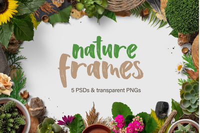 5 Nature Frame Backgrounds