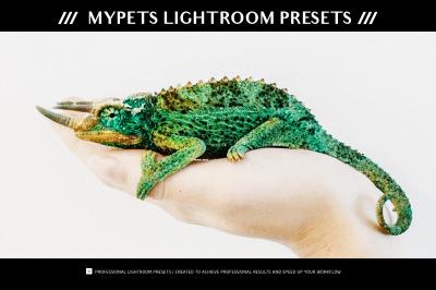 myPETs Lightroom Presets