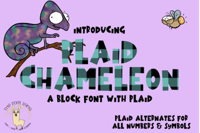 Plaid Chameleon Font
