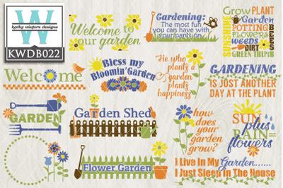 BUNDLE Gardening  KWDB022