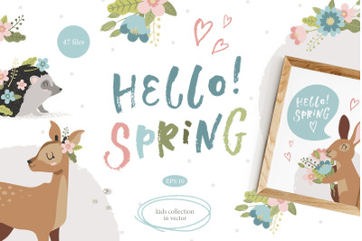 Kids collection: Hello Spring!
