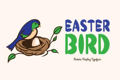 Easter Bird Typeface