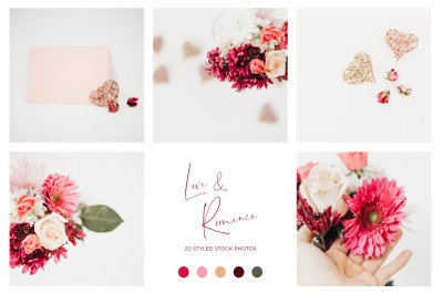 Love & Romance Stock Photo Bundle