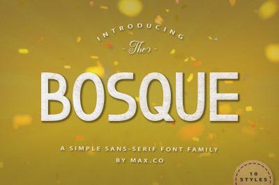 Bosque Typeface