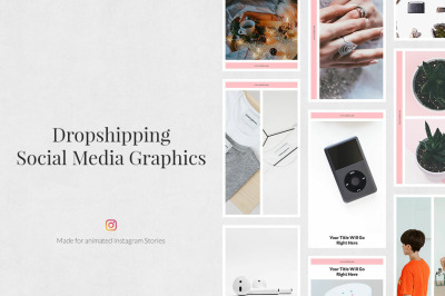 Dropshipping Animated Instagram Stories