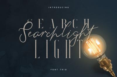 Searchlight - font trio