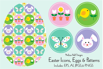 Easter Icons, Eggs & Patterns