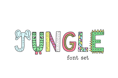 Jungle Font