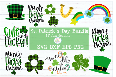 St. Patrick's Day SVG Bundle