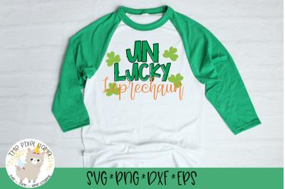 UnLucky Leprechaun SVG Cut File