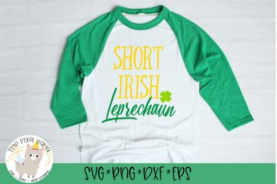 Short Irish Leprechaun SVG Cut File