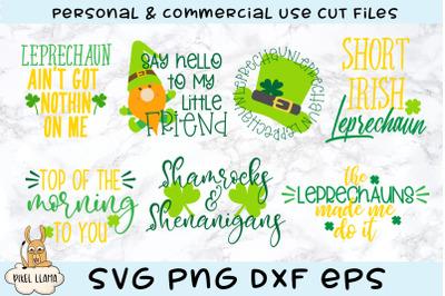 St Patricks Lucky 7 Bundle SVG