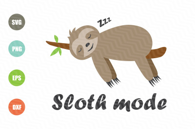 Sloth Mode SVG