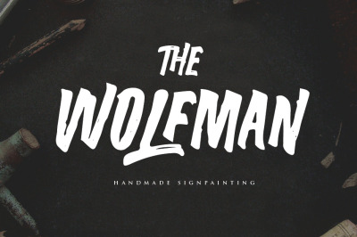 The Wolfman Typeface