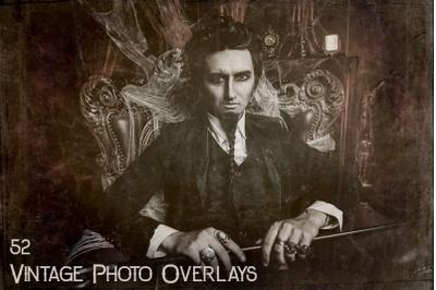52 Vintage Photo Overlays