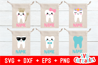 Tooth Fairy Bags | Cut File