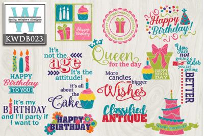 BUNDLE Birthday KWDB023