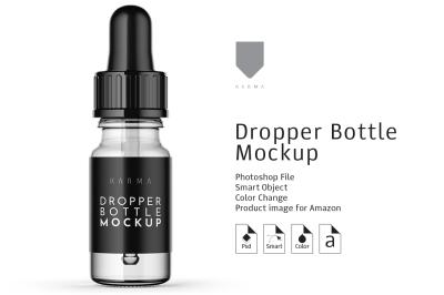 Dropper Bottle Mockup 6